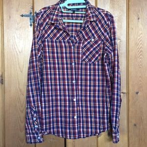 INSIGHT Flannel Button Down